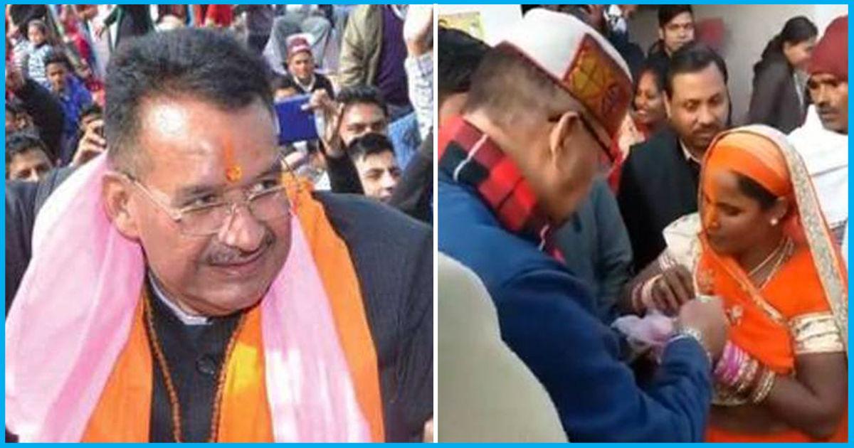 Uttarakhand: Caught On Camera Giving Money, BJP MLA Justifies The