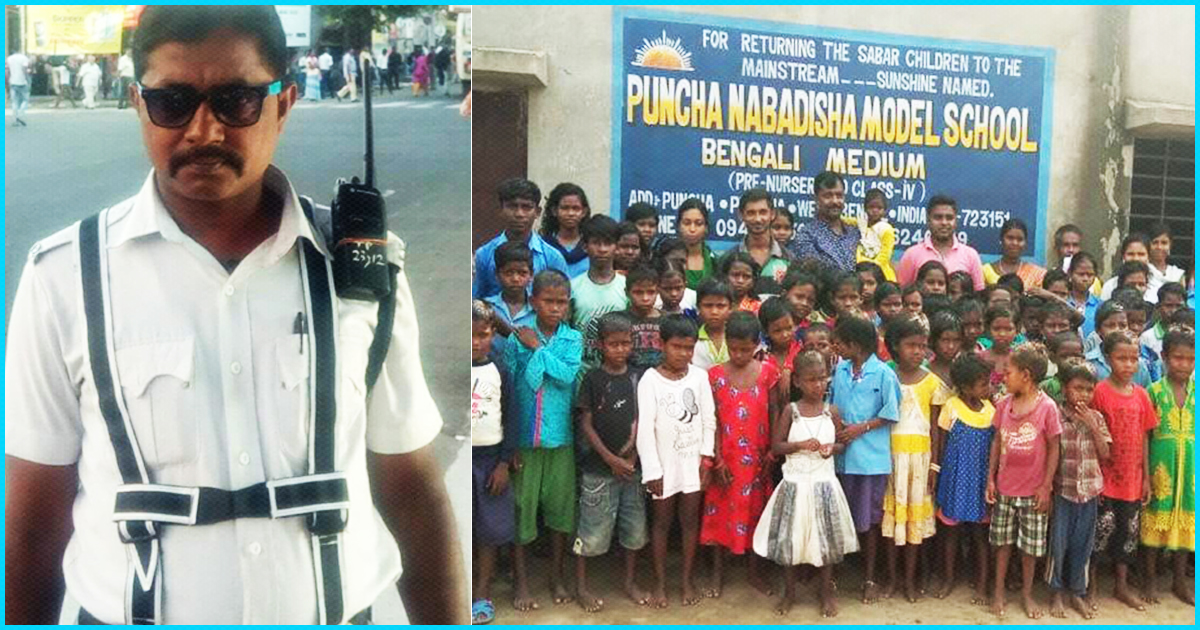 This Police Constable Used His Life-Savings To Run A School For Marginalised Children