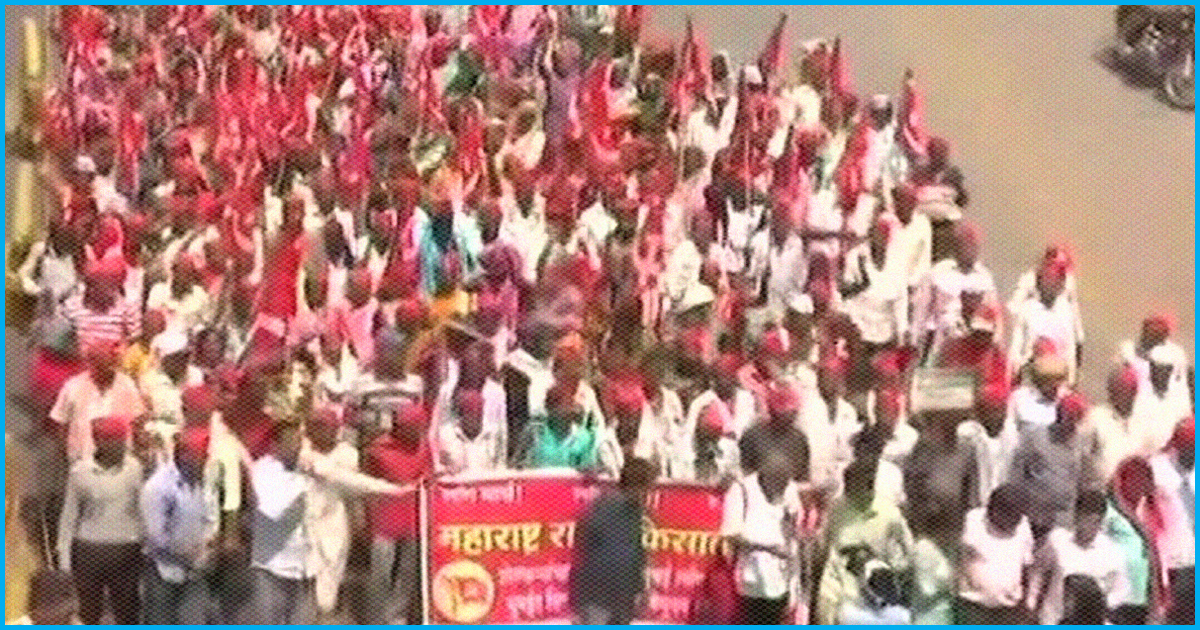 After Walking For 13-Hours, Maharashtra Farmers Called-Off Their Agitation Post CM