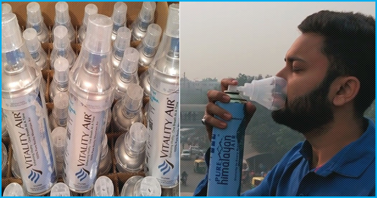 From Social Experiment To Reality: Bottled Fresh Air Now Being Sold Online In India