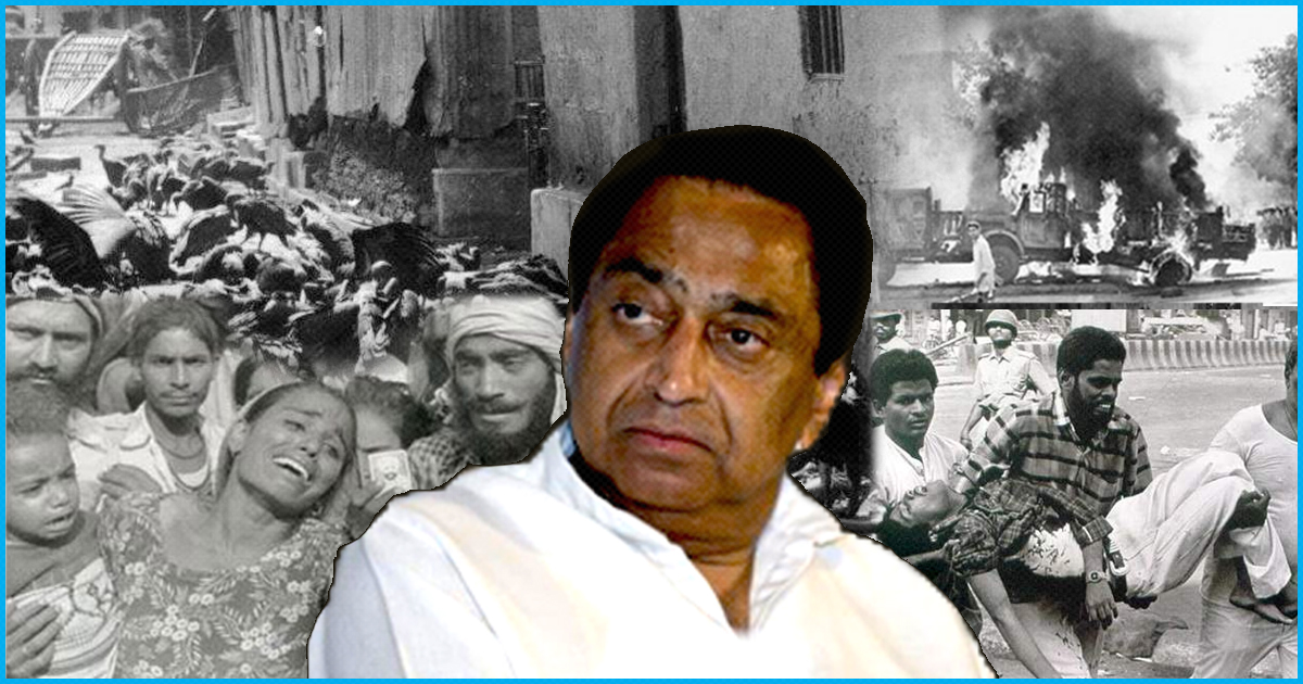 Congress Contender For Madhya Pradesh CM Post Was Seen With A Mob In 1984 Sikh Riots