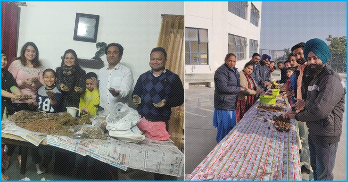 To Make Ludhiana Greener, Over Two Lakh Seed Ball Prasads Distributed Among Rath Yatris