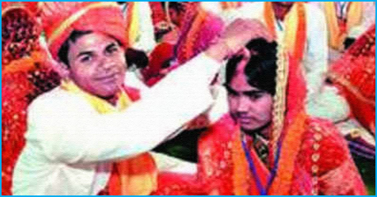 Jharkhand: Thanks To This NGO, 132 Live-In Couples Get Married In Mass Wedding