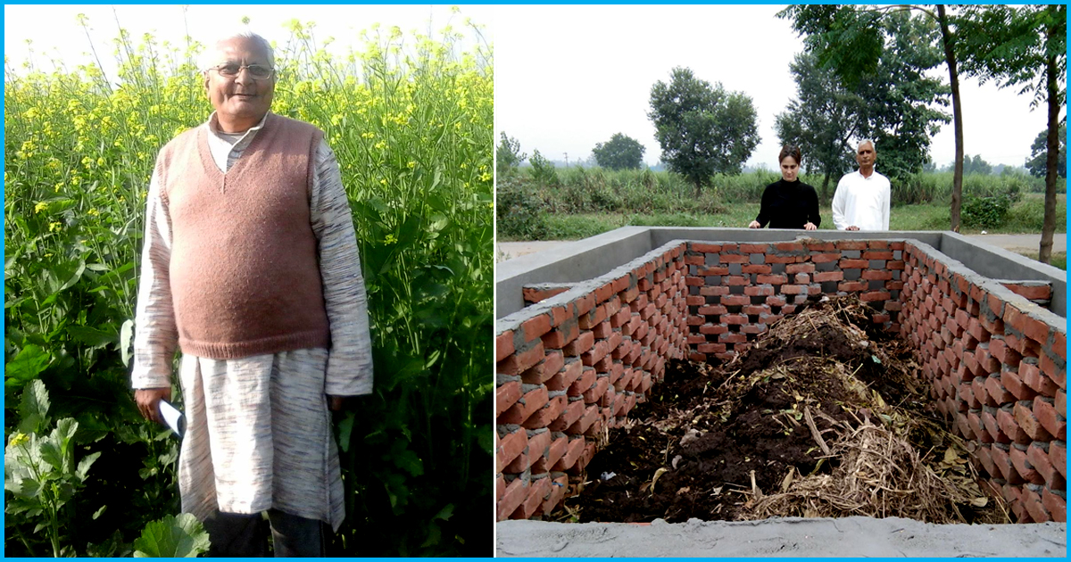 UP: Farmers Are Converting Farm Waste To Manure & Saving The Air From 45,000 Kg Of Carbon Dioxide