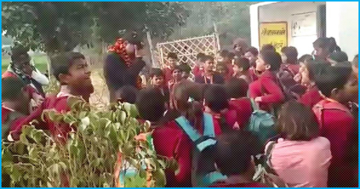 UP: Emotional Students & Parents Took Out Rally To Protest Transfer Of Their