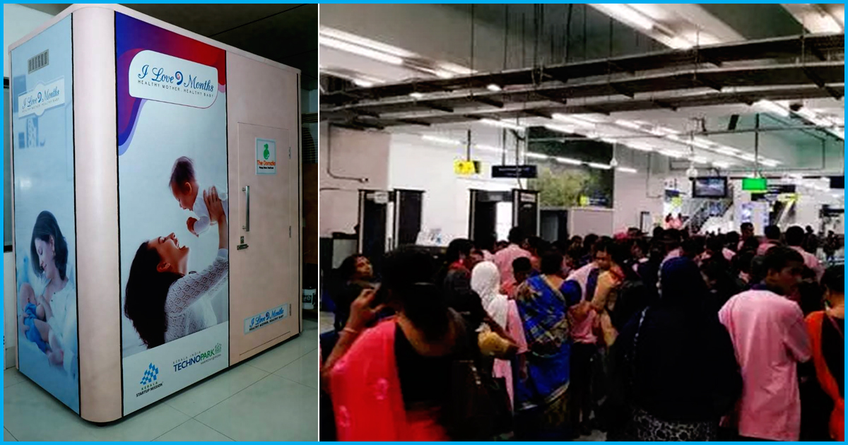 Kerala: In A First, Kochi Metro Sets Up Breastfeeding Pods For Lactating Mothers