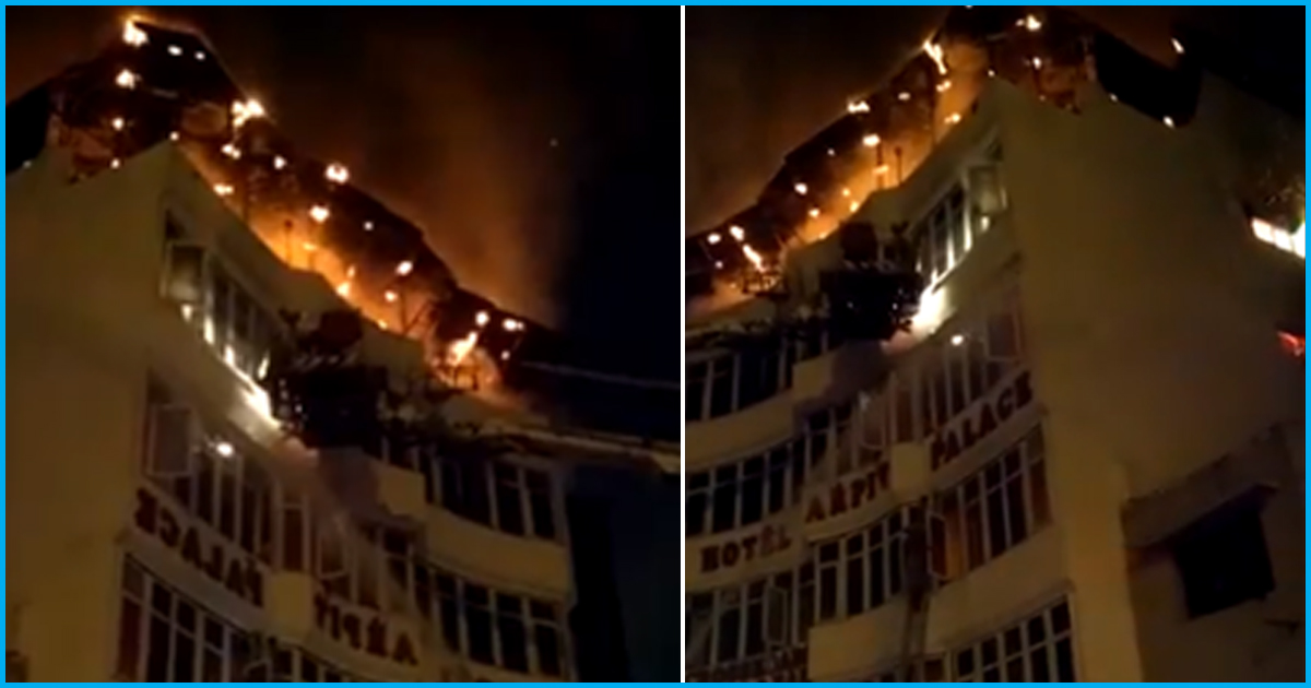 Delhi: Massive Hotel Fire Kills At Least 17 Including A Child; Leaves Many Injured
