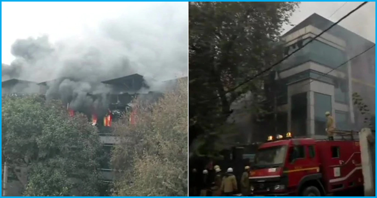 Delhi: Fire Breaks Out At Archies Card Factory Just Days After Hotel Blaze That Killed 17