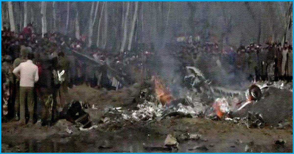 IAF Confirms Six Airmen Died In Chopper Crash In J&K