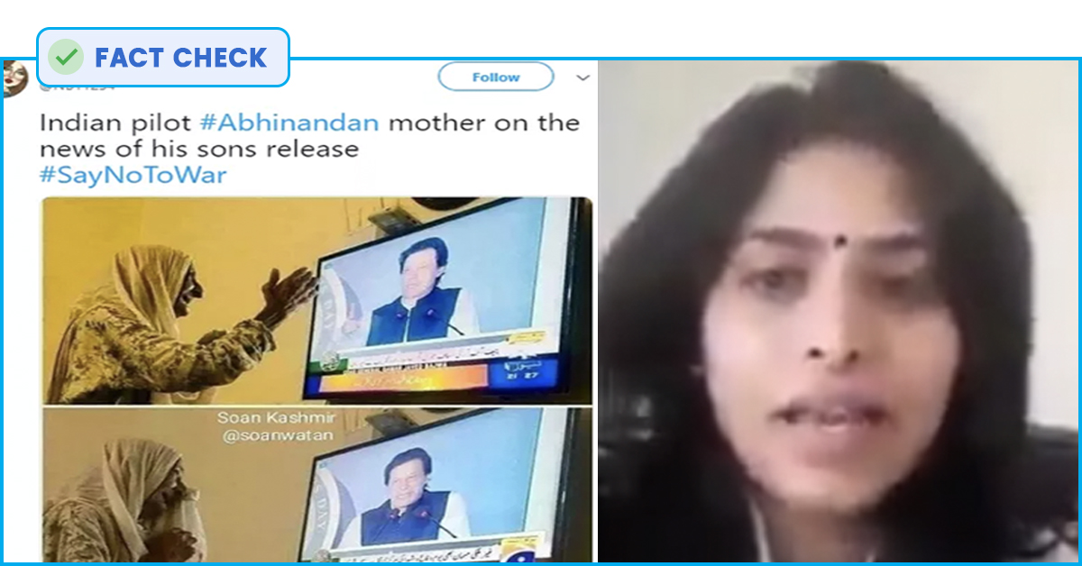 Fact Check: From Fake Images Of IAF Aircraft By Pakistan Media To Woman In A Video Claimed As Abhinandan