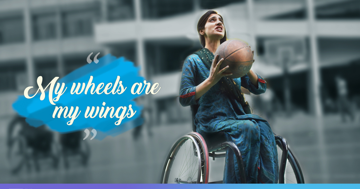 Dribbling Past All Hurdles: Despite Being On A Wheelchair, This Kashmiri Woman Is Breaking Stereotypes