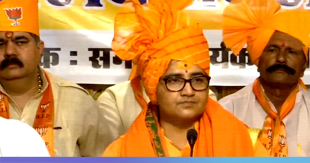"""He Was A Martyr"": Sadhvi Pragya Issues Apology After Her"