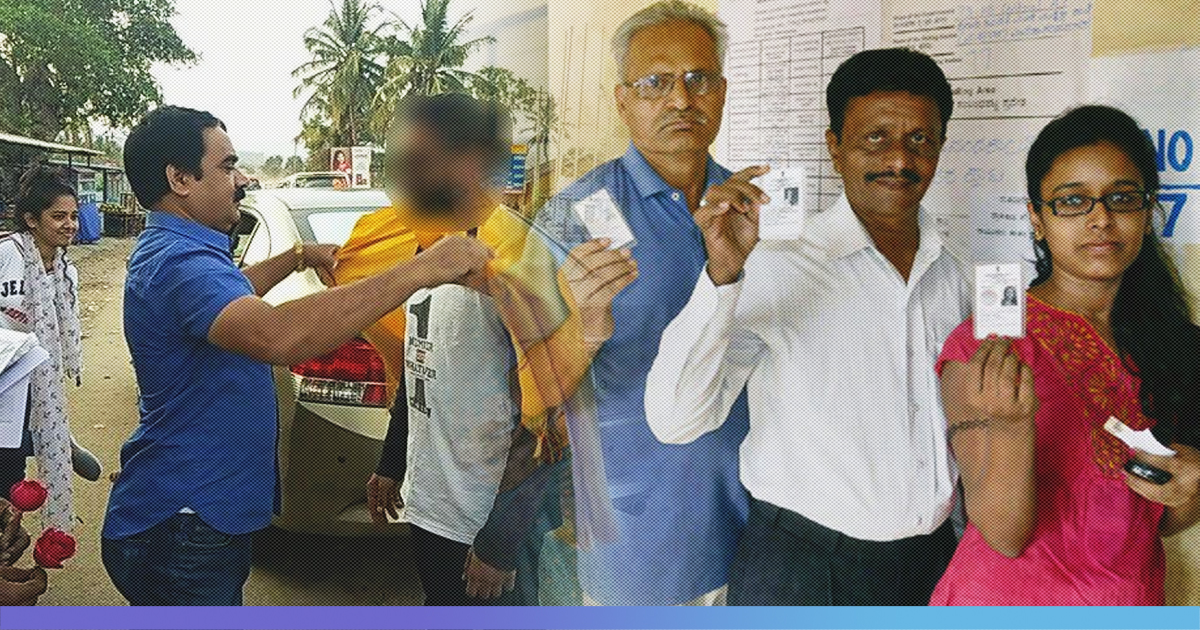 Karnataka: Tourists Who Skipped Voting  Were Shamed And Garlanded By Campaigners