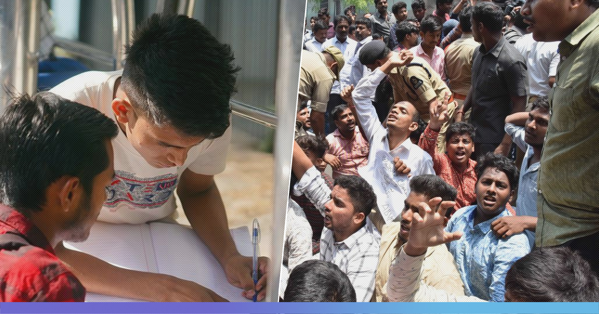 Telangana: Student Protest Over Intermediate Results Intensify As They Allege 'Goof Up'