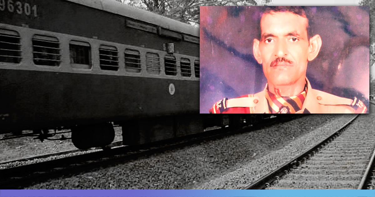 RPF Personnel Dies On Tracks After Saving Couple and Children From Approaching Train