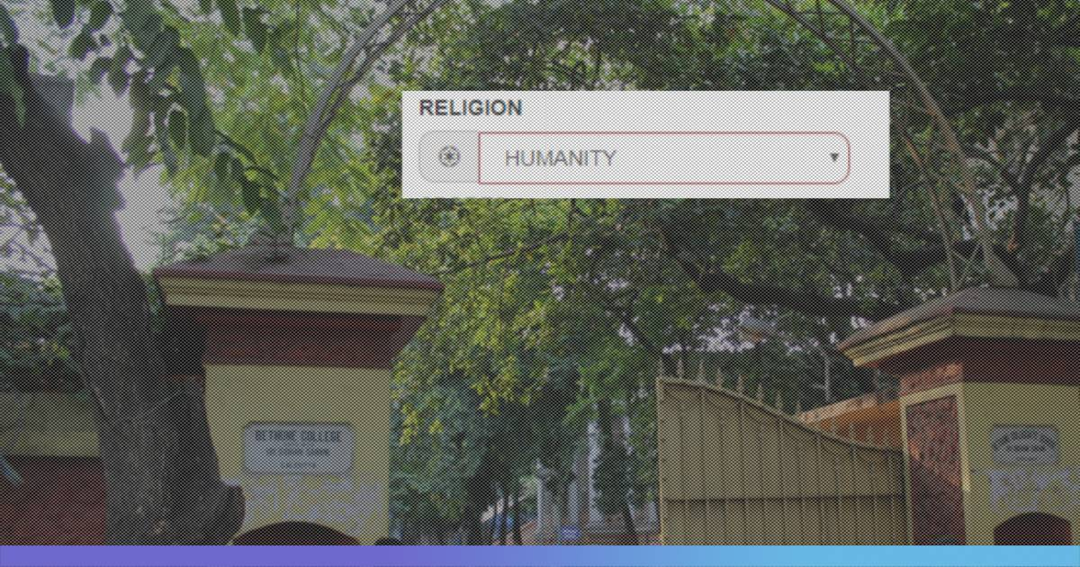 Humanity Now A Religion: Bethune College, Kolkata Introduces An Option Of Choosing 'Humanity' As A Religion