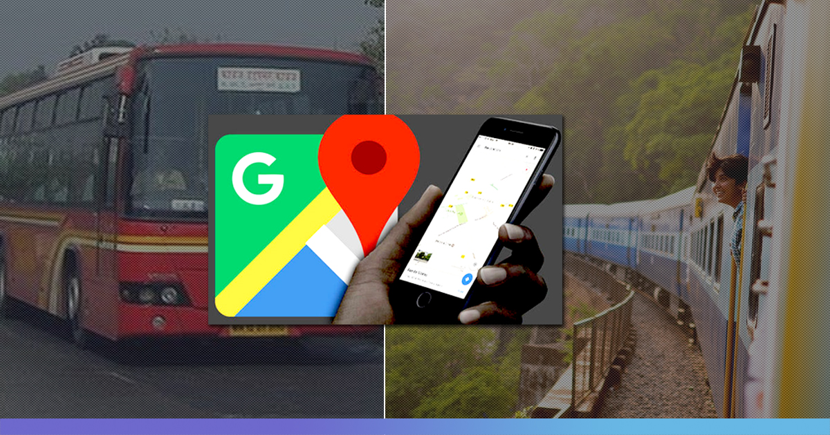 Google Map Launches India-First Features Including Live Train Running Status, Bus Travel Data To Help Commuters