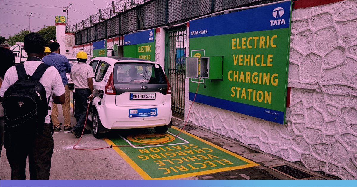 Govt Push To Encourage Electric Vehicles, Indian Petrol Pumps To Get Electric Charging Points