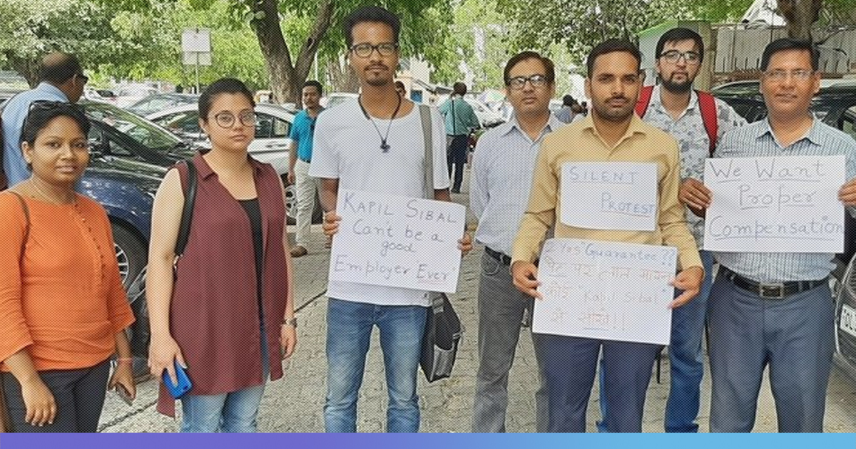 Tiranga TV Employees Hold Protest Over Termination Without Notice