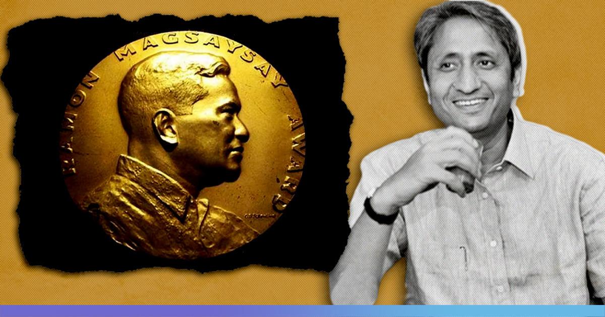 """Ramon Magsaysay Award"" To NDTV Journalist Ravish Kumar For ""Fearless Journalism"""
