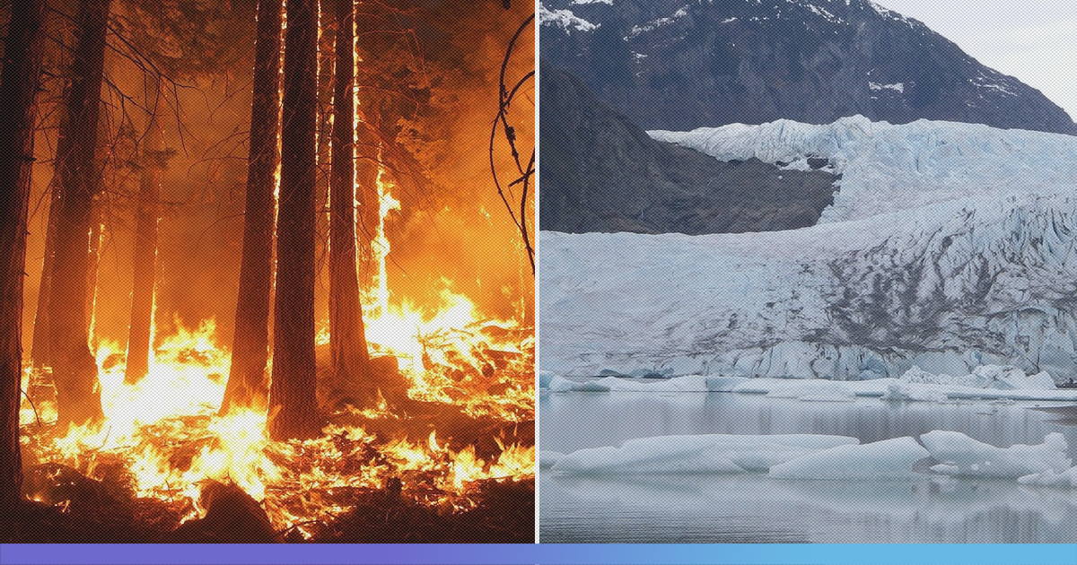 The Coldest Place On Earth - Arctic Circle, Is On Fire