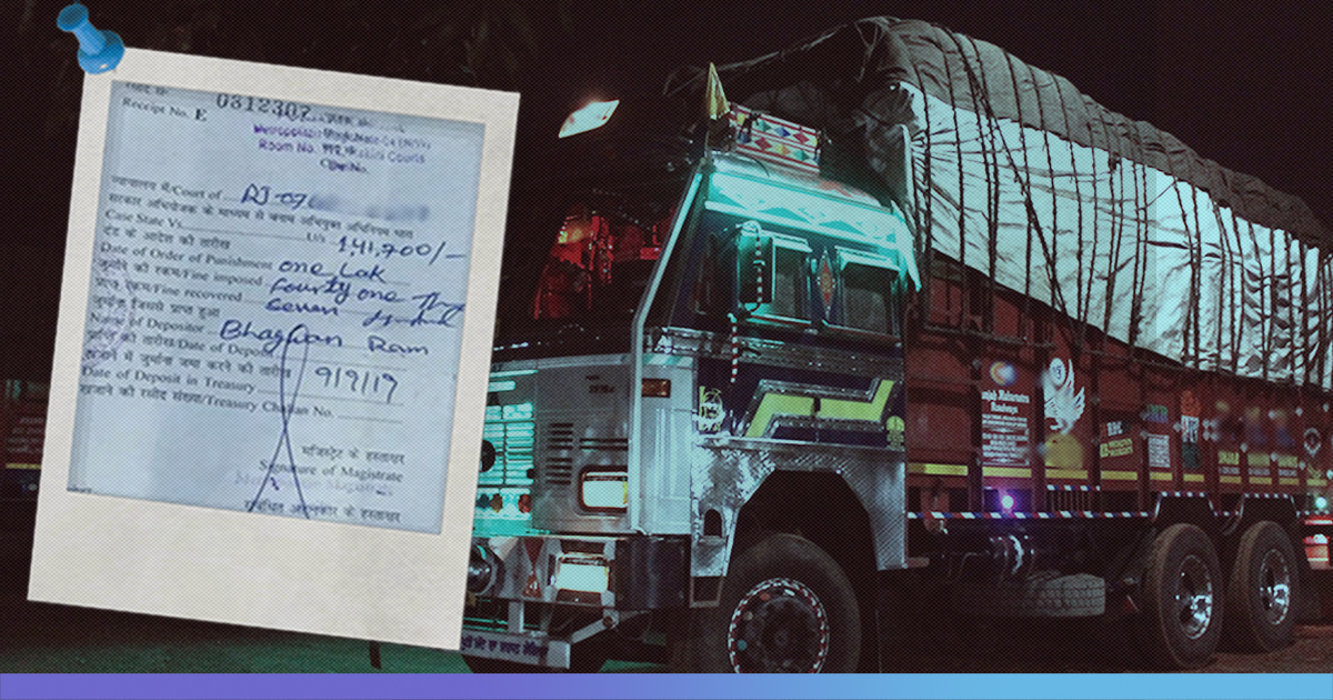 Rajasthan Truck Owner Fined Rs 1.41 Lakh, Creates New Traffic Penalty Record