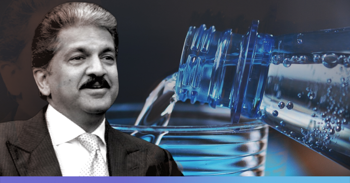 Anand Mahindra Replaces Plastic Bottles In All Meeting Rooms With Refillable Ones