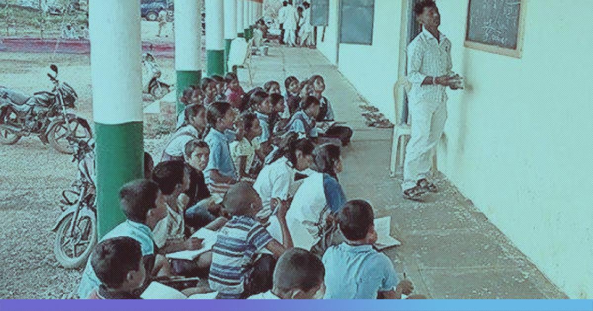 Karnataka: Peon Teaches Mathematics To 10th Class Students As Headmaster Busy With His Phone
