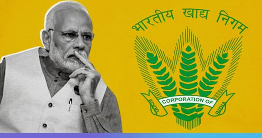 Food Corporation Of Indias Debt Tripled To Rs 2.65 Lakh Crore In 5 Years Modi Rule