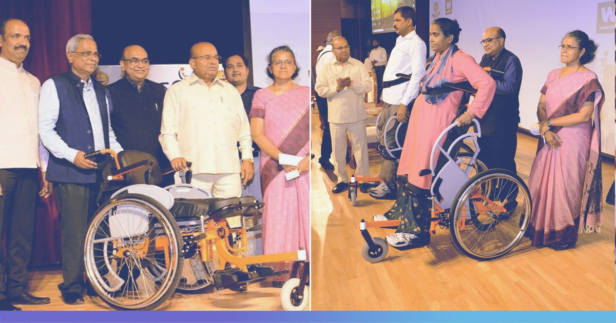 Indias First Indigenously Designed Standing Wheelchair Launched At IIT Madras