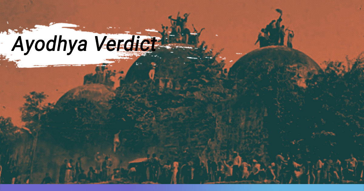 Read: Full-Text Of The Supreme Court Verdict On Ayodhya Land Dispute