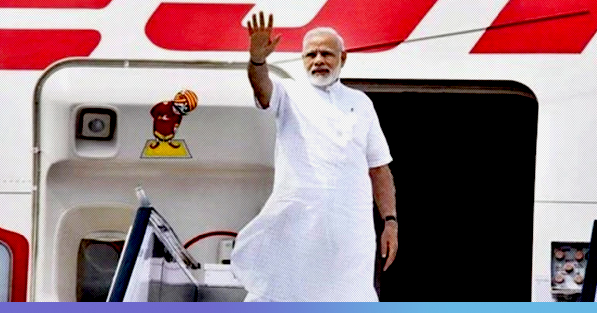 Over Rs 255 Cr Spent On Chartered Flights For PM Modi