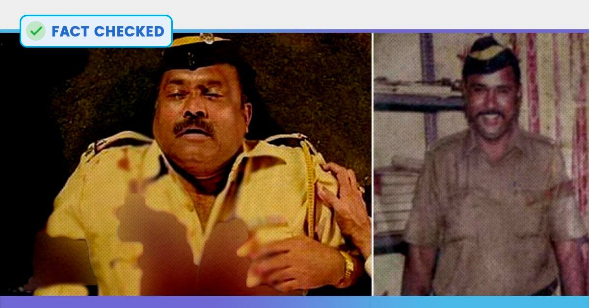 Fact Check: Screen Grab Of Movie Shared As Image Of 26/11 Martyred Cop Tukaram Omble