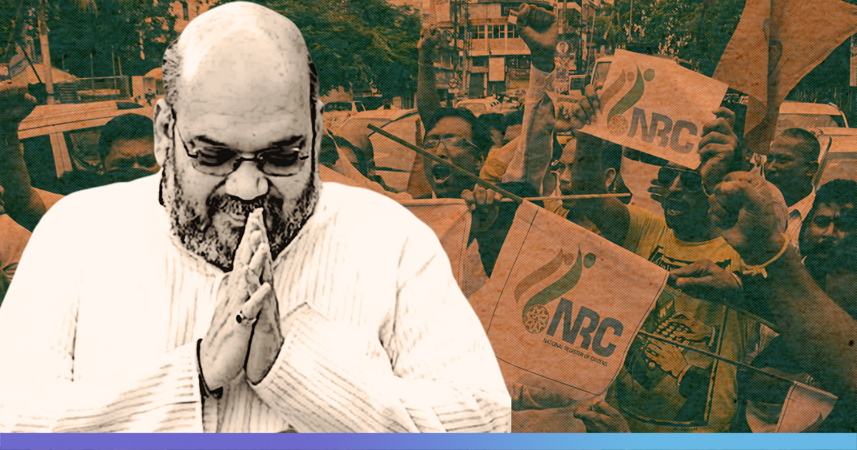 Amit Shah Sets 2024 As Deadline For Nationwide NRC, Says Infiltrators Will Be Expelled Before Next LS Polls