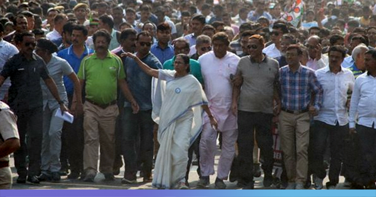 Mamata Banerjee Leads Mega Protest Rally; Says Will Never Allow NRC, CAA In Bengal