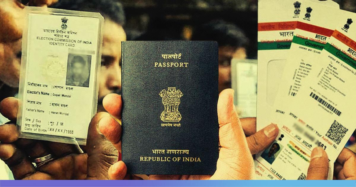 Rejecting Popular Claims Govt Officials Say Aadhaar, Voter ID, Passport Do Not Prove Citizenship
