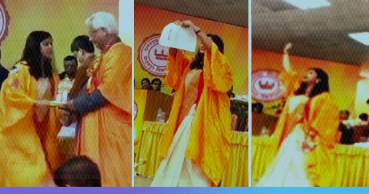 Watch: Student Tears Copy Of Citizenship Act During Convocation At Jadavpur University