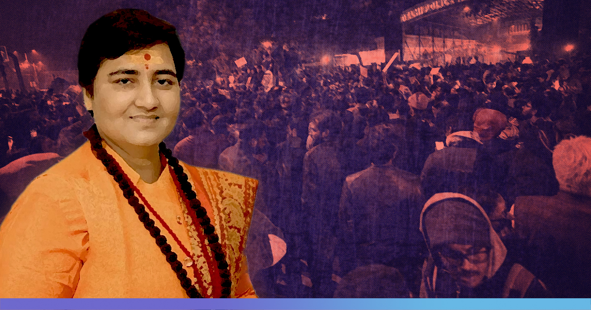 Aatankwadi Vapas Jao: Pragya Thakur Met With Slogans At University In Bhopal