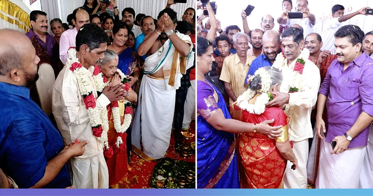 Kerala Couple In Their 60s Fell In Love At Old Age Home, Ties The Knot