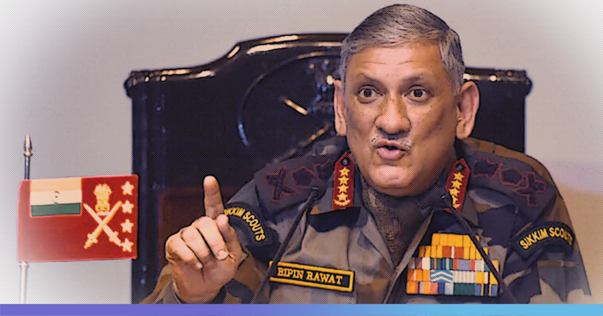 Day Before His Retirement, Army Chief General Bipin Rawat Named Indias First Chief Of Defence Staff