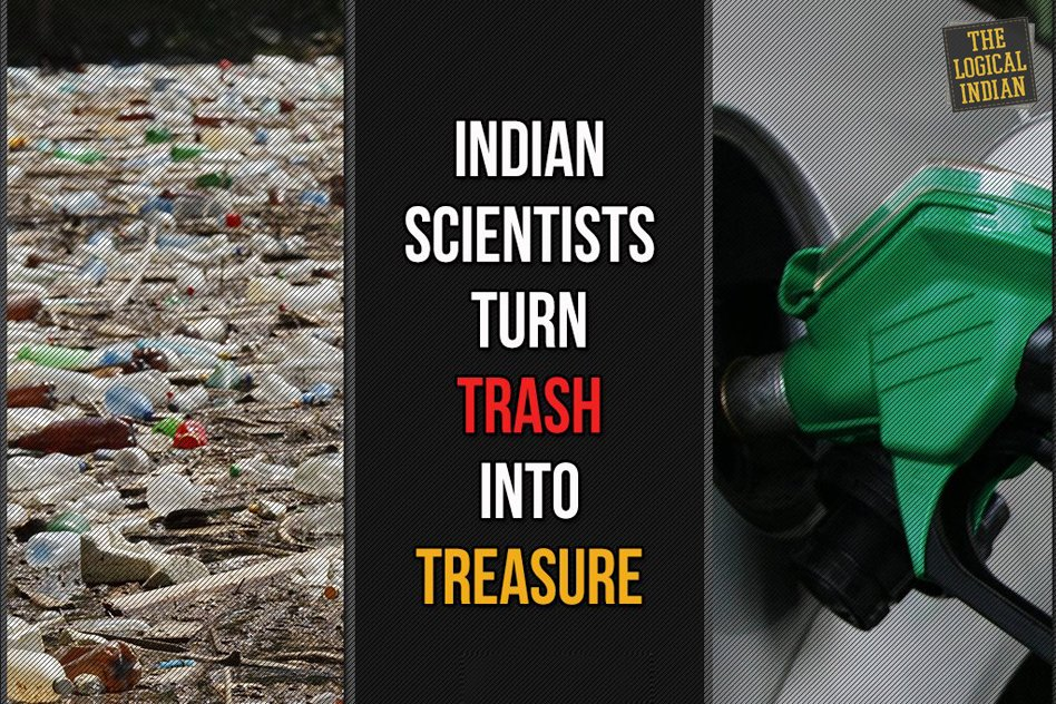 Indian scientists turn trash into treasure.