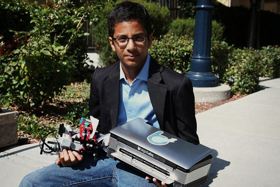 Shubham Banerjee, recounts his quest to make an advanced, affordable Braille Printer
