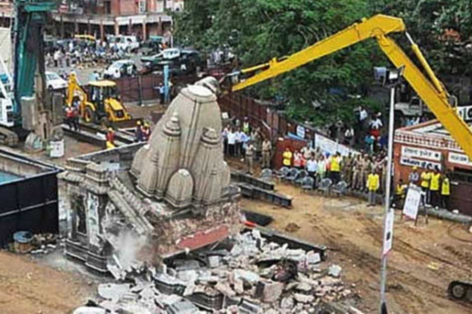 Jaipur: 200 Year Old Temples Destroyed For Construction Of Metro Corridor
