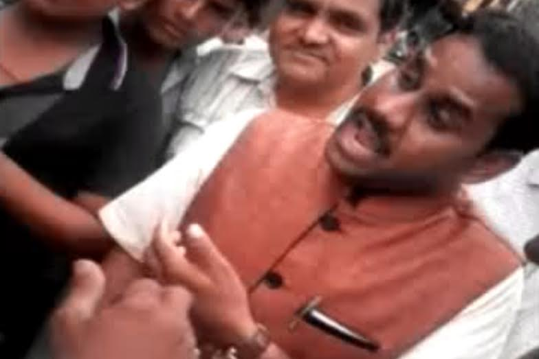 Watch How BJP MLA Threatens Journalist, Says He Has The Right To Encounter