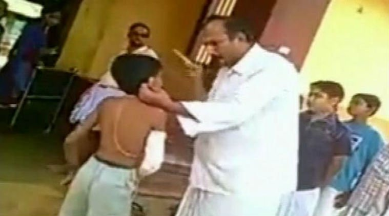 Video: Student With Fractured Arm Beaten And Abused By Teacher In Mangalore