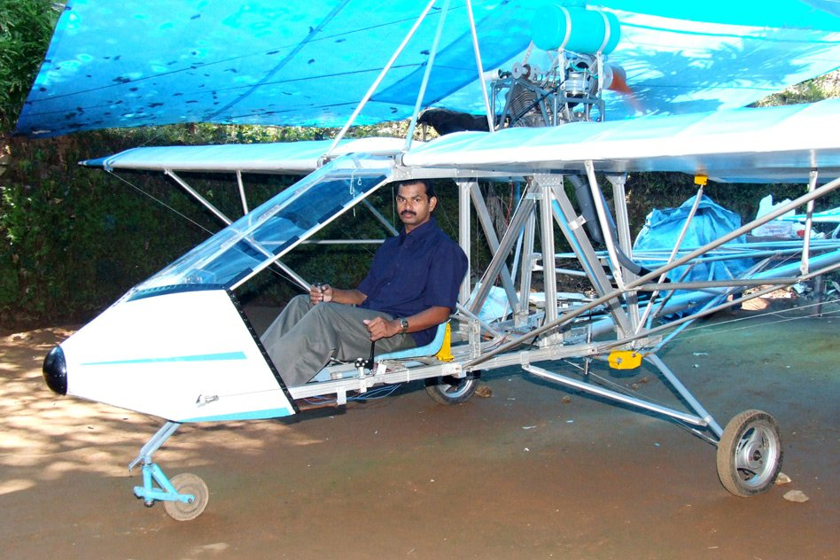 [Watch/Read] Mocked For His Ambition, Deaf And Mute Saji Thomas Built An Aircraft