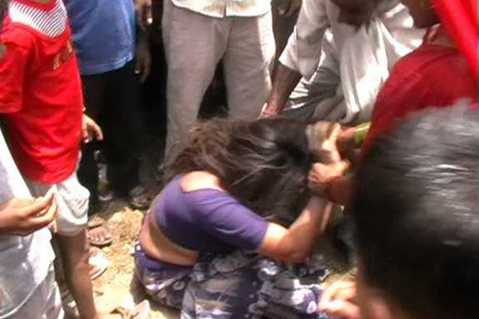 Blinded By Superstition, Villagers Paraded Woman Naked, Forced Her To Drink Water From Sewage