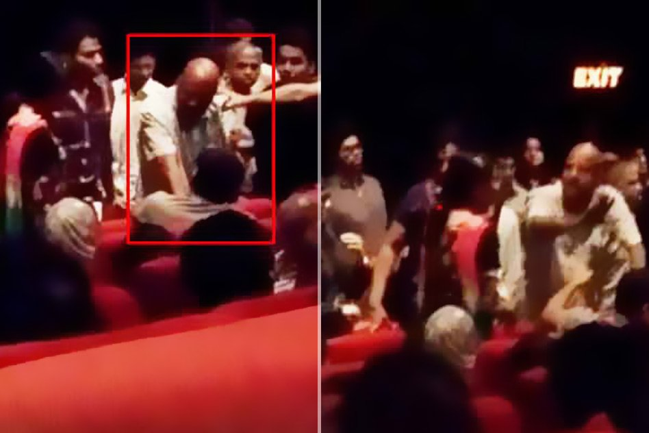 Video: Family Forced To Leave Theatre For Not Standing Up During National Anthem