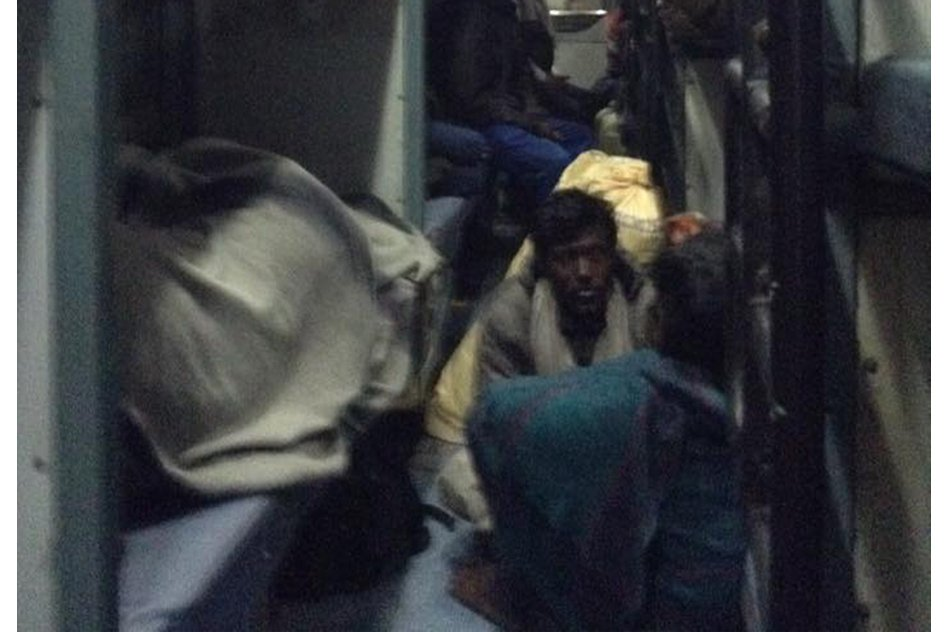 The Situation Of A Typical Sleeper Class Train In My Country