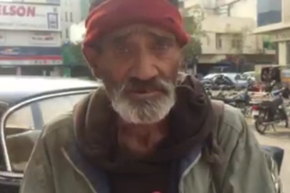 Video: Get Spellbound By The Way This Homeless Man Speaks & Teaches Us What Life Is All About